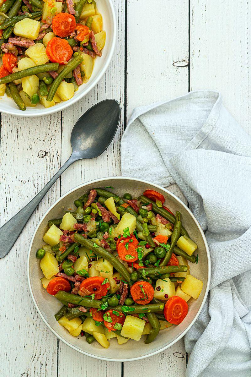 mijoté légumes pommes de terre cookeo