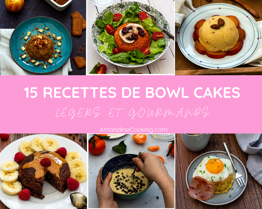 recettes bowl cakes légers weight watchers