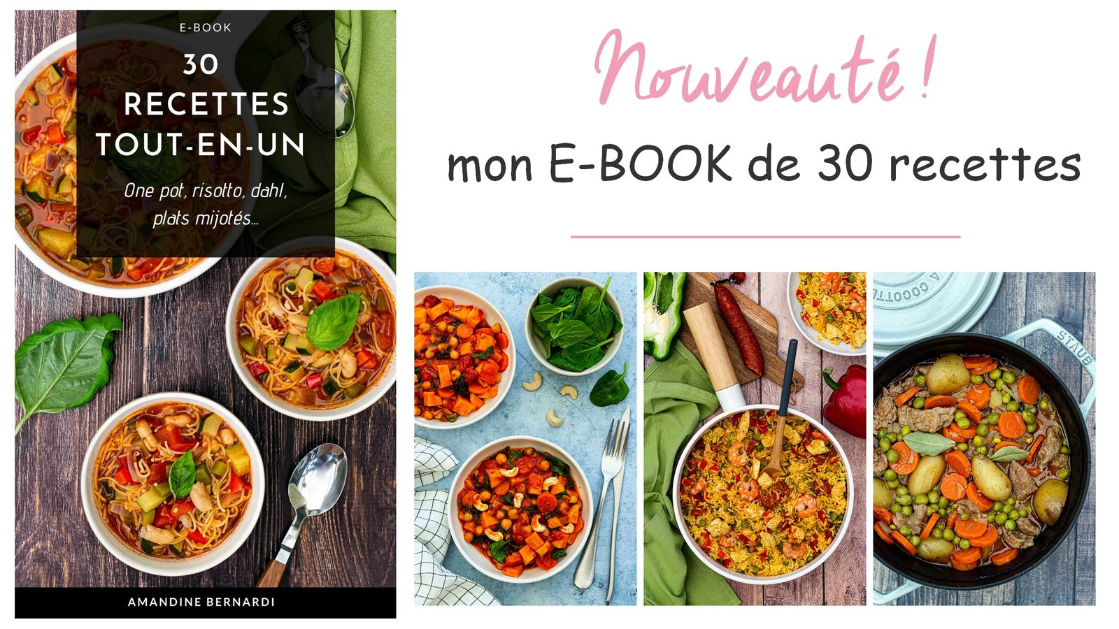 e-book amandine cooking