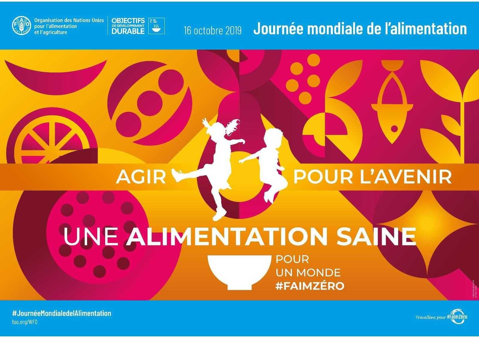 Poster FAO Journée mondiale de l'alimentation 2019