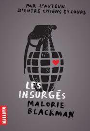 Les insurgés, Malorie Blackman, Milan Macadam, 2015