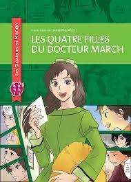 Les quatre filles du docteur March, Nobi Nobi, les classiques en manga, 2015