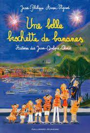 Une belle brochette de bananes, J-P Arrou-Vignod, Gallimard Jeunesse, 2016