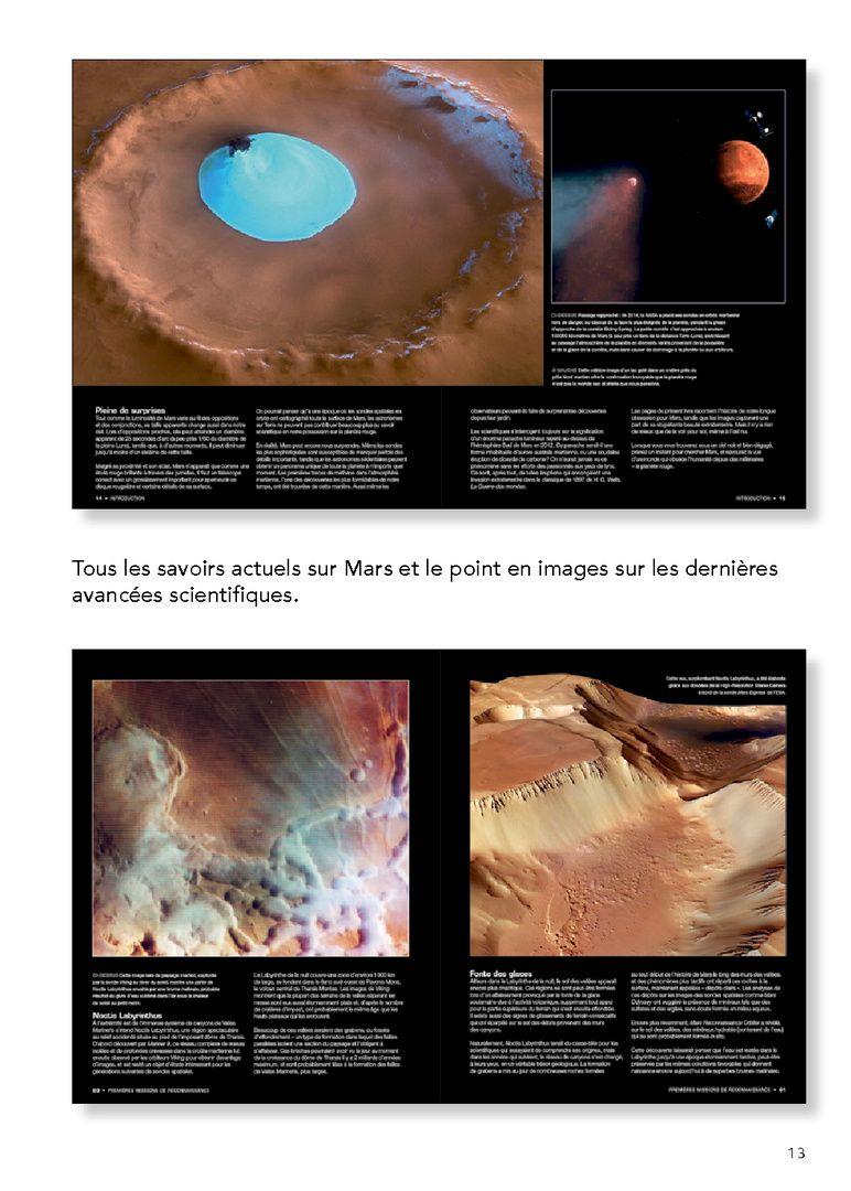 Mars : planète rouge, Giles Sparrow, 2016