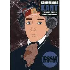 Comprendre Kant, Thibaut Gress, Sébastien Barbara, Max Milo, Essai graphique, 2016