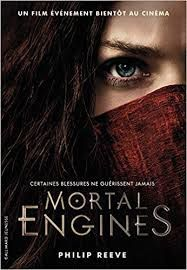 Mortal Engines, Philip Reeve, Gallimard Jeunesse, 2018