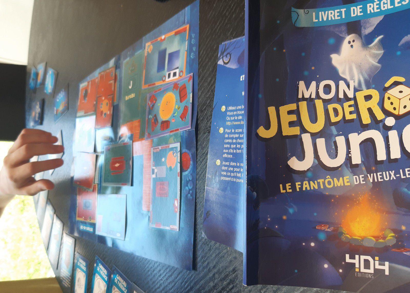 Mon jeu de rôle junior, François Lévin, éditions 404, 2020