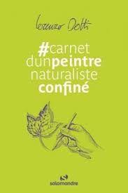 #carnetd'unpeintrenaturalisteconfiné, Lorenzo Dotti, Salamandre, 2020