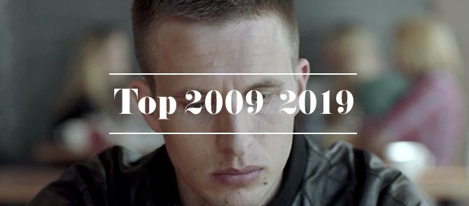 Top 10 de la décennie 2009/2019