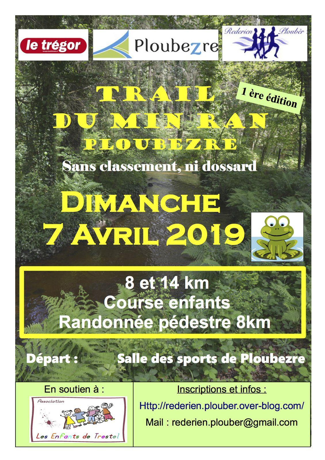 Trail du Min Ran - Ploubezre - le 7 avril 2019