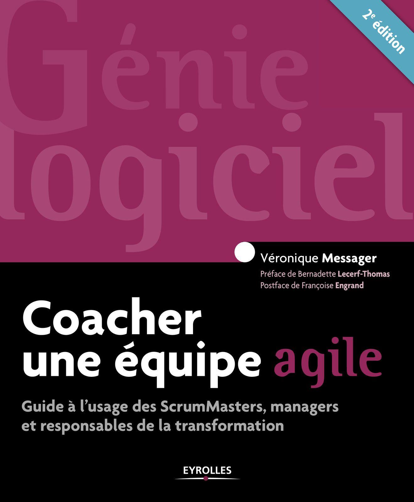 """""""Coacher une équipe agile"""" de Véronique Messager"""