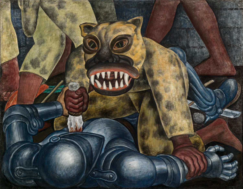 Diego Rivera: Indian warrior (1931) - MoMa.