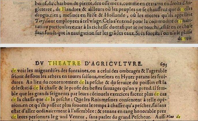Olivier de Serres: Les bois en général (Théâtre d'agriculture et mesnage des champs, 1600)