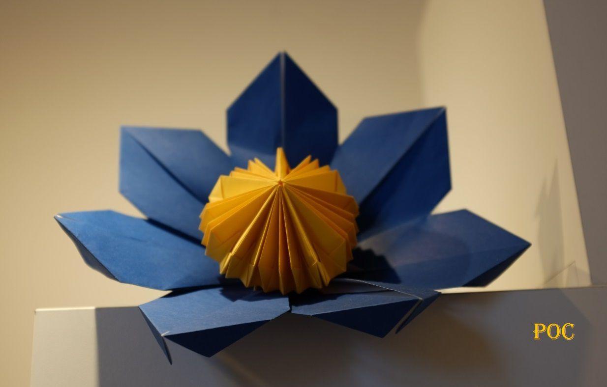 Les origami du féérique jardin d'hiver de Laure Devenelle à Rambouillet