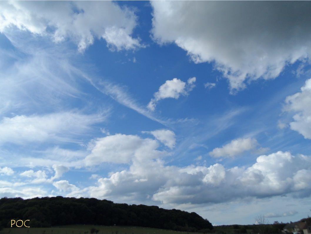 """""""J'aime les nuages qui passent... les merveilleux nuages..."""" Photo: Pierre-Olivier Combelles"""