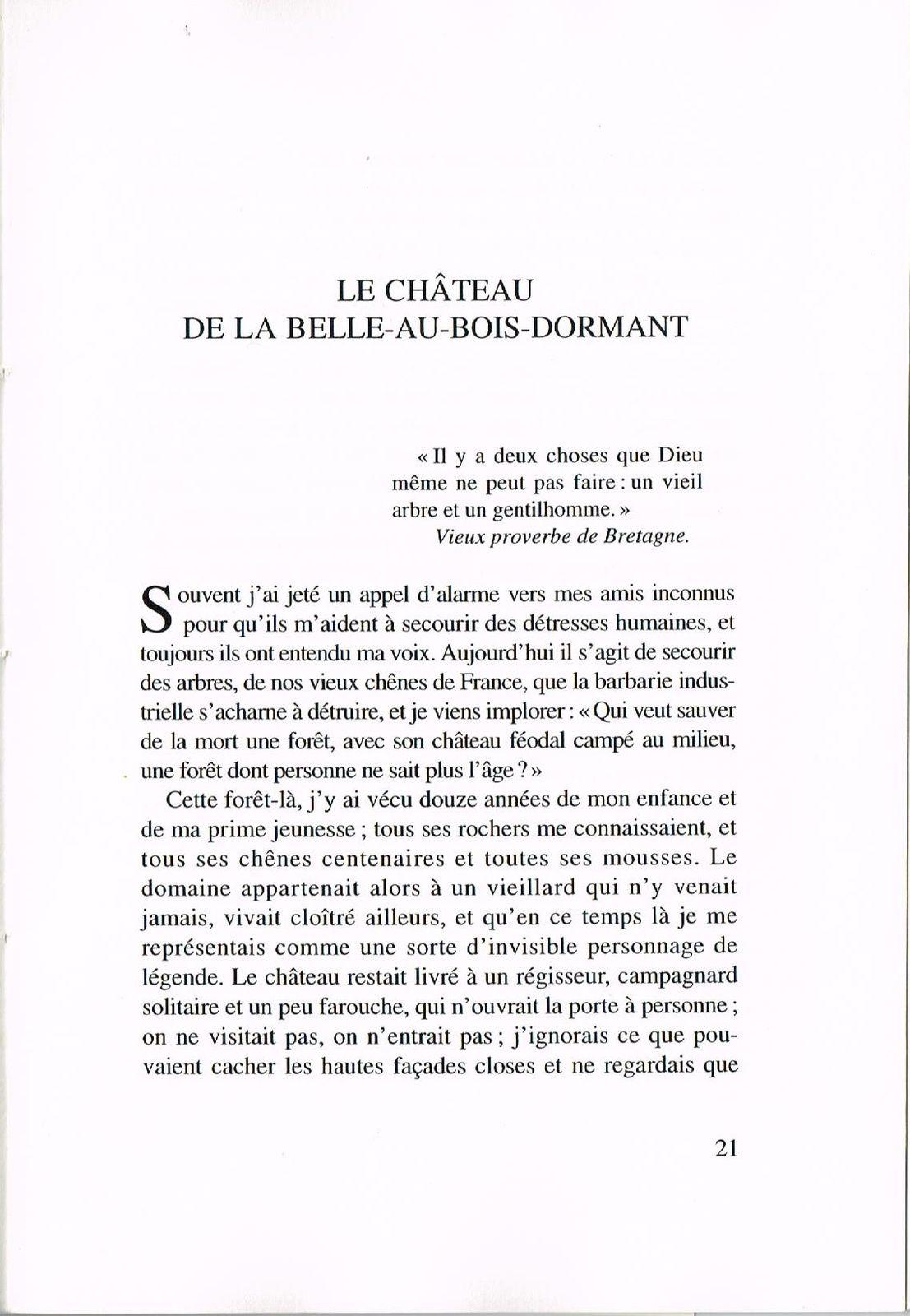 Pierre Loti: Le château de la Belle-au-bois-dormant. Ed. Rumeur des Âges, La Rochelle, 1993. Il s'agit du château de La Roche Courbon.