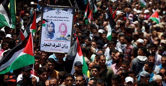 Razan-Al-Najjar, ton âme ira comme une fleur au Jardin de Dieu