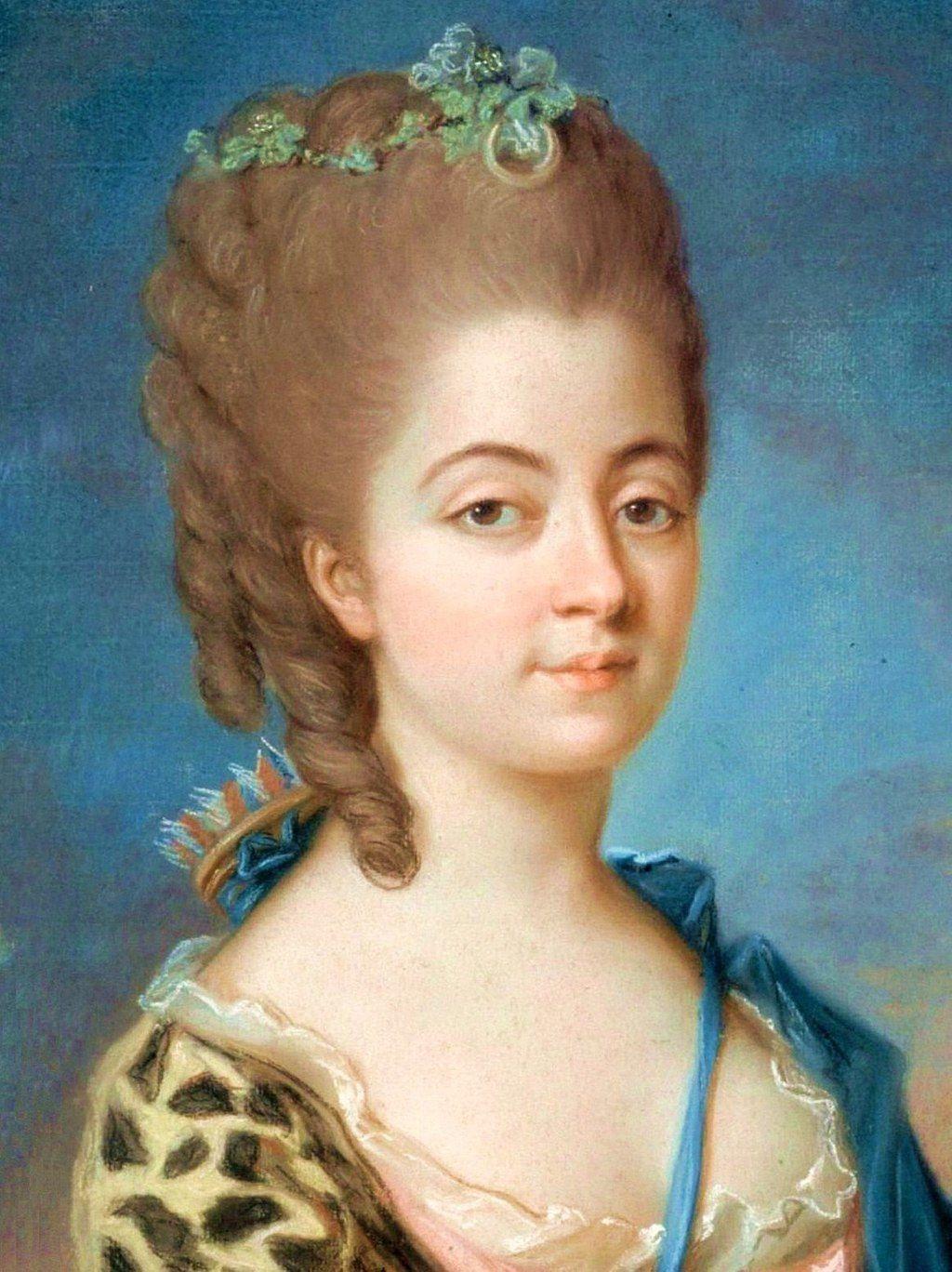 Marie-Aurore de Saxe par Adélaïde Labille-Guiard — Musée de la Vie romantique - Hôtel Scheffer-Renan - 16 rue Chaptal 75009 Paris.