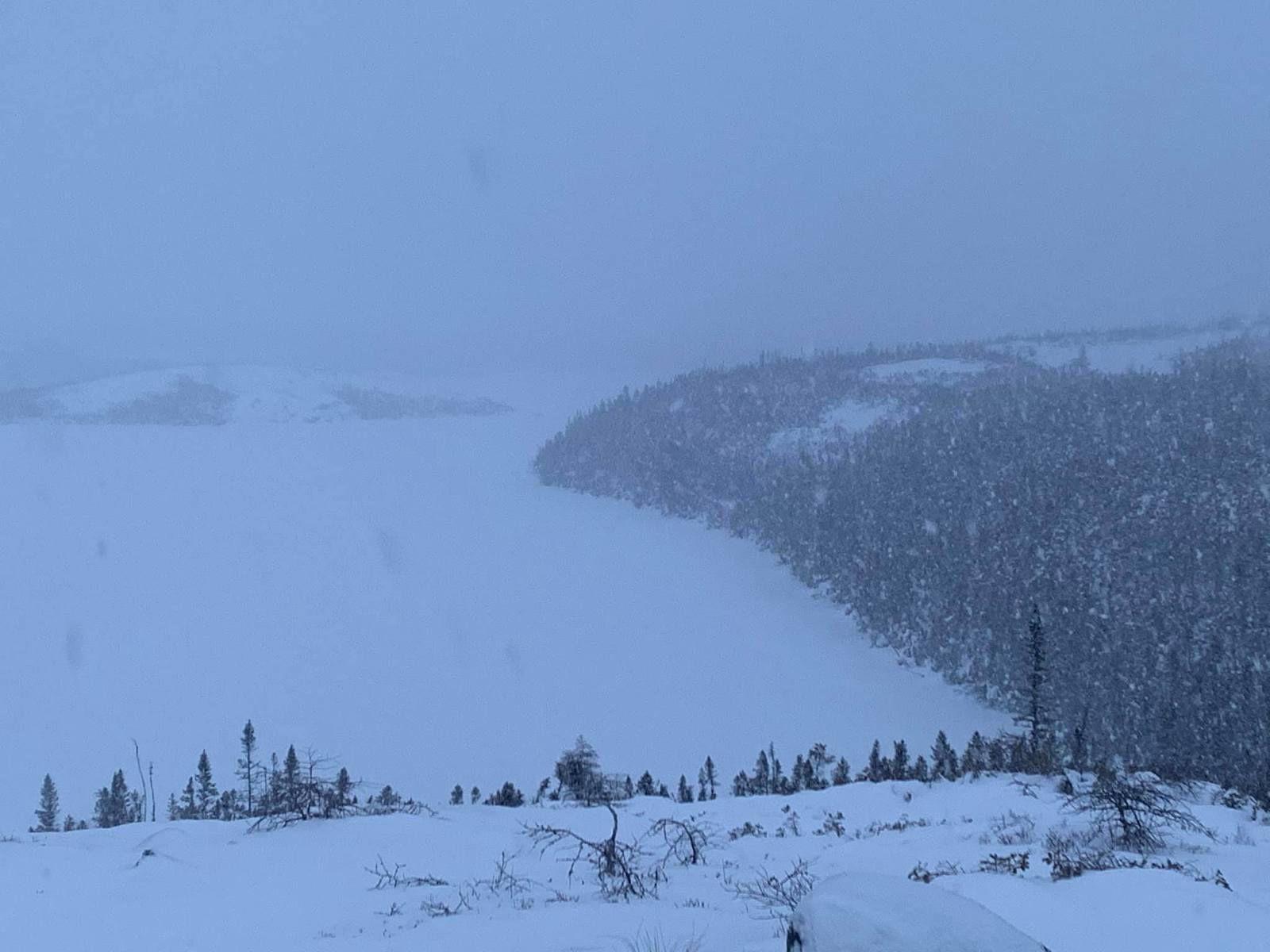 L'hiver est revenu sur la Basse Côte-Nord du Québec...