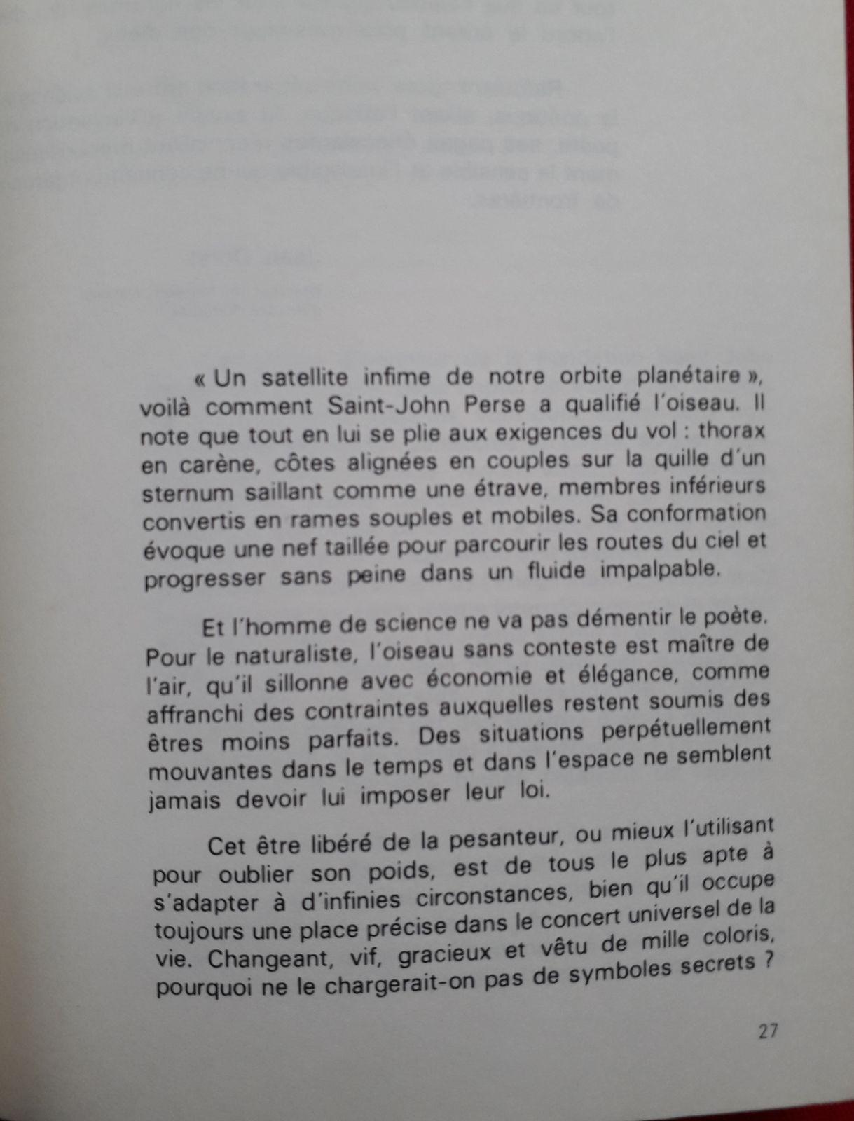 """Exceptionnel entretien avec Jean Dorst (1965) lors de la parution de son livre """"Avant que nature meure"""" (Pierre Ichac/INA)"""