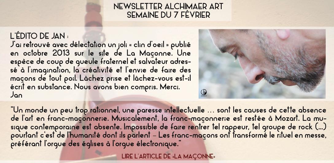 Alchimaer Art : de nouveaux projets.
