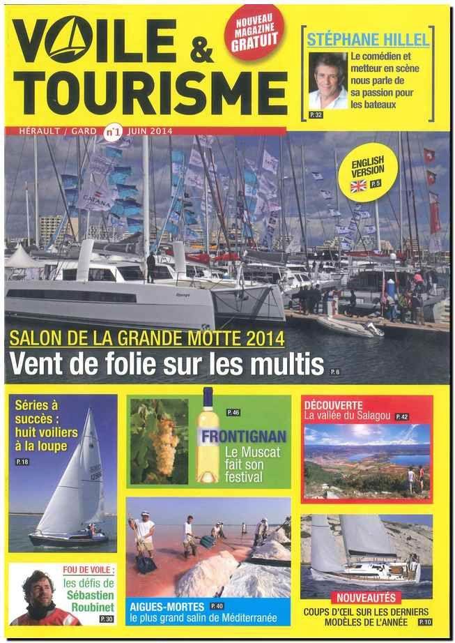 Expertise maritime interview de Jean-Jacques POMAREDE - Magazine Voile & Tourisme Languedoc-Roussillon n°1 JUIN 2014