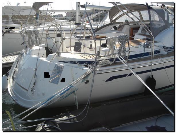 Abordage du voilier de l'assuré par le catamaran