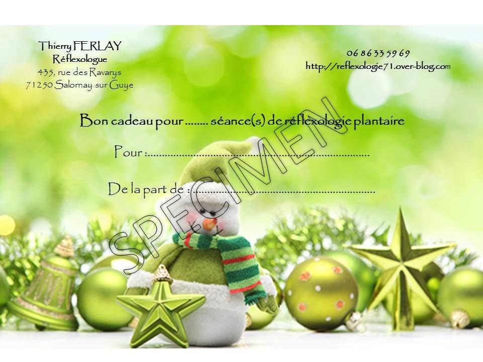 1811e0d700e Idée cadeau bien-être pour Noël ! - REFLEXOLOGIE 71-Thierry FERLAY ...