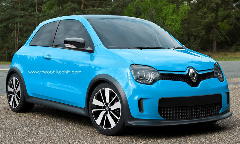 The next generation of Renault Twingo inpired from the Renault LeCar !