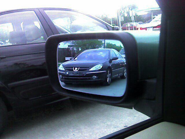 Peugeot 607 spotted in Michigan...