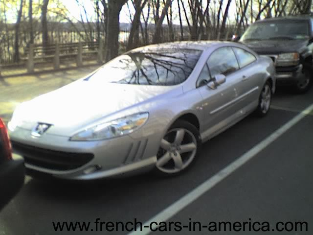 Peugeot 407 coupe in NJ