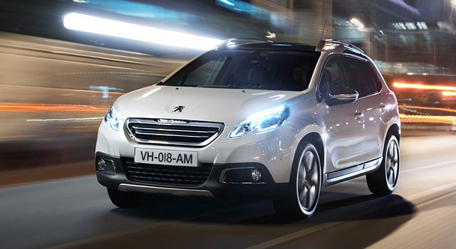 THE 100,000th PEUGEOT 2008