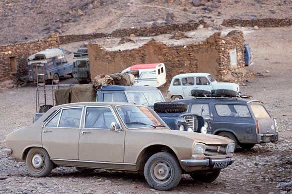 Peugeot 404, 504 and 406. The Peugeot 406 is from the 90's.