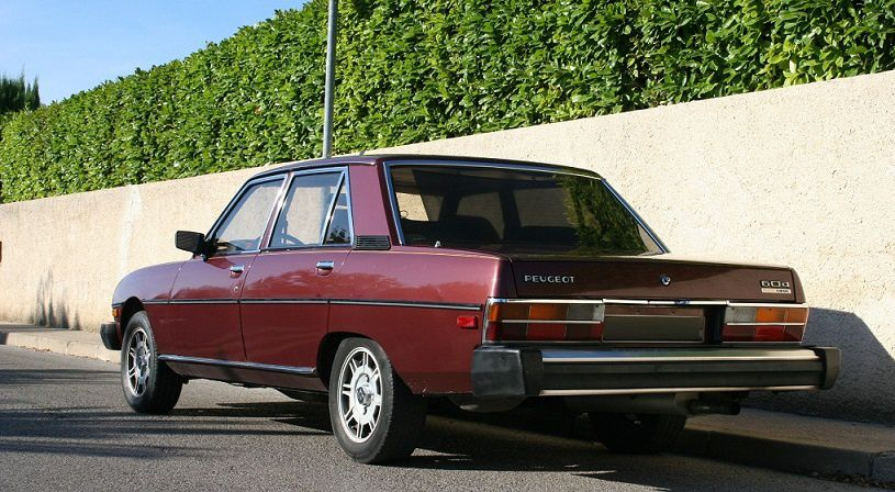 40TH BIRTHDAY OF THE PEUGEOT 604