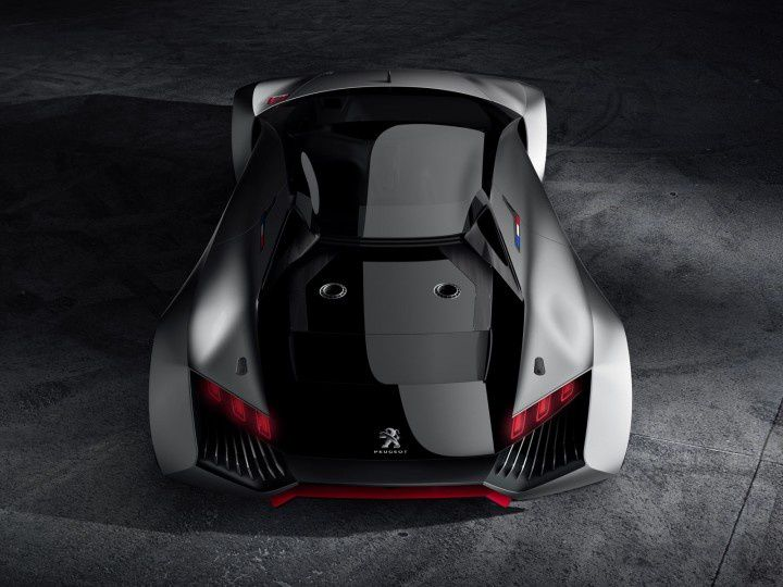 PEUGEOT VISION GT : 0 TO 62 MPH IN 1.72 SEONDS