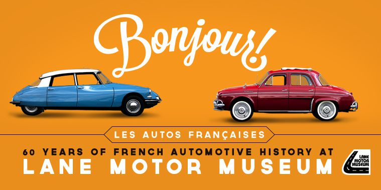 NASHVILLE : 60 YEARS OF FRENCH AUTOMOTIVE HISTORY