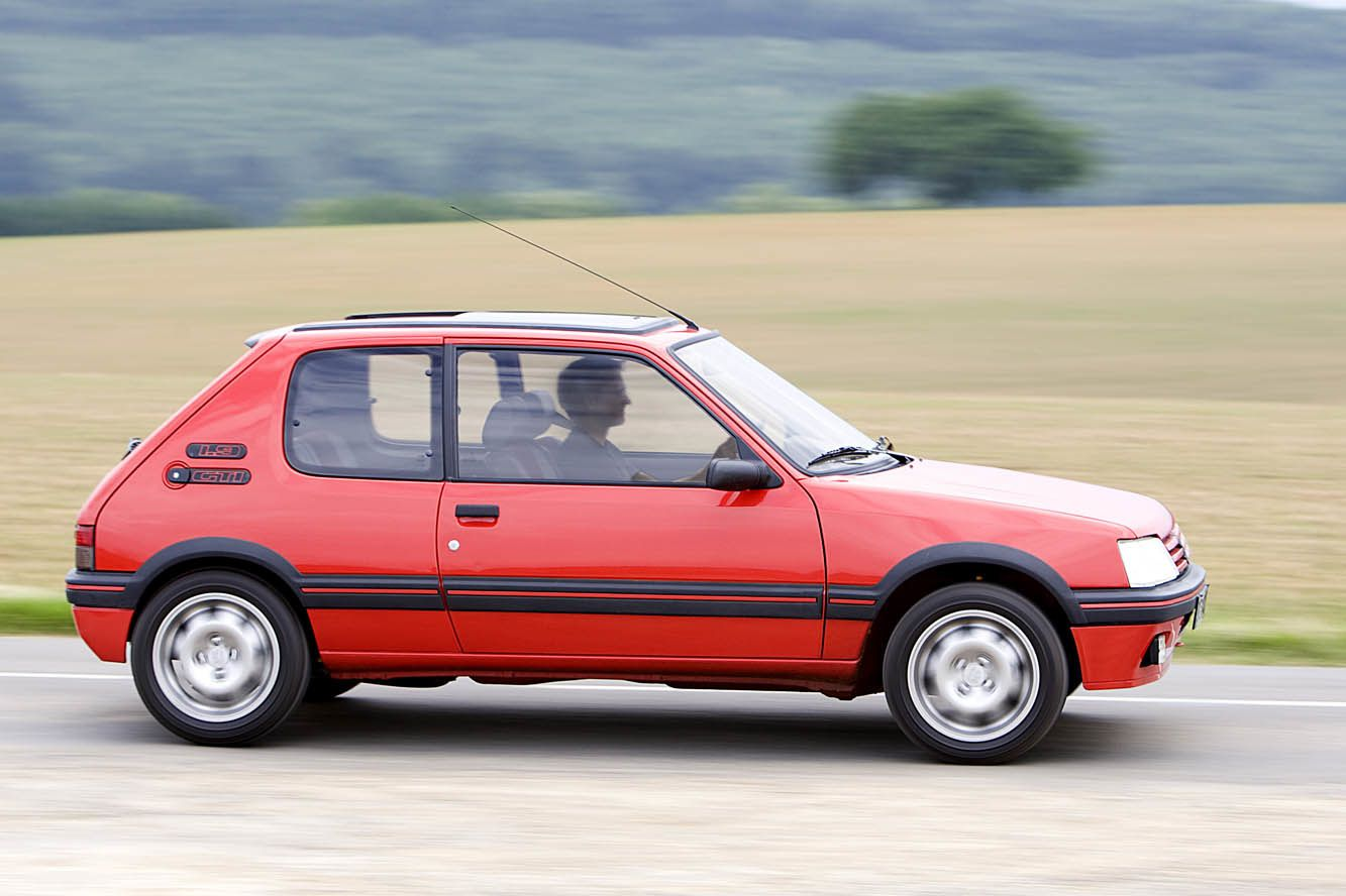 PEUGEOT 205 GTi CROWNED THE 'GREATEST EVER HOT HATCH'