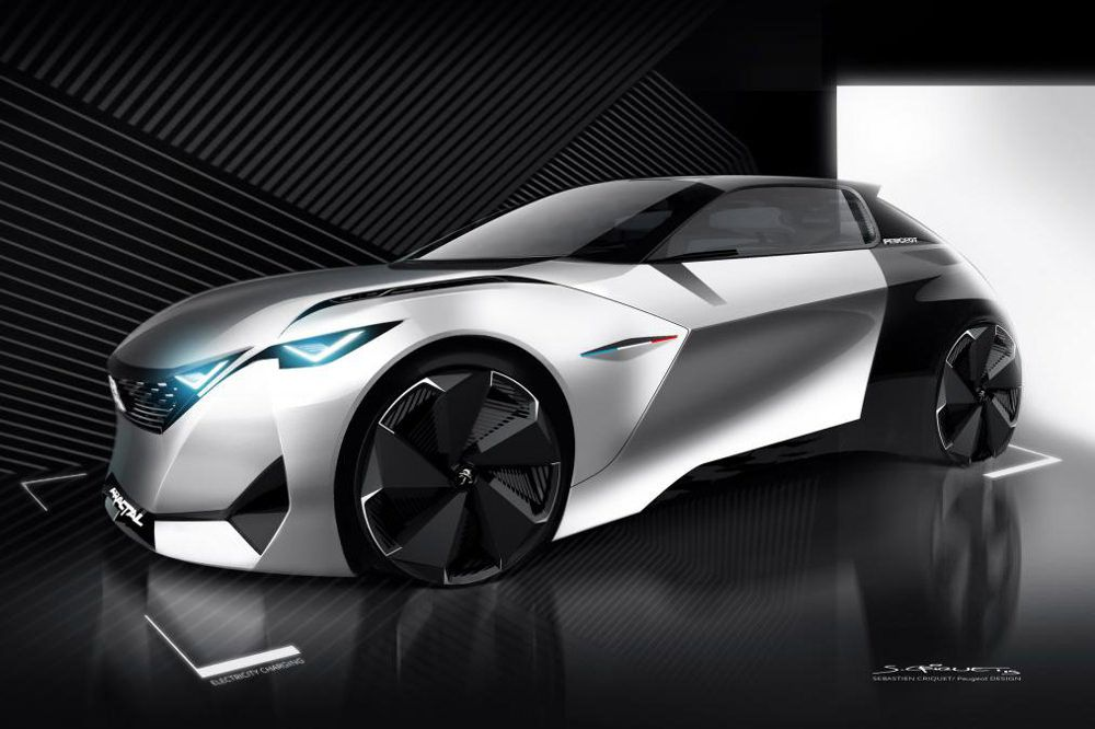 Peugeot Concept and Exagon Furtive e-GT