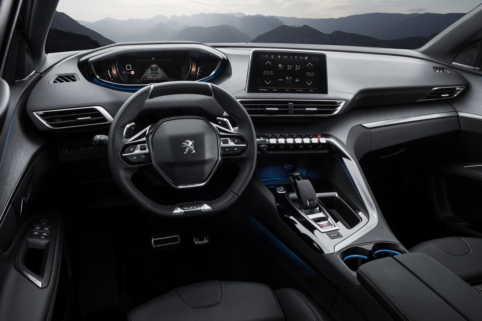 THE NEW PEUGEOT 3008 GT SUV TEMPER, GT SPIRIT