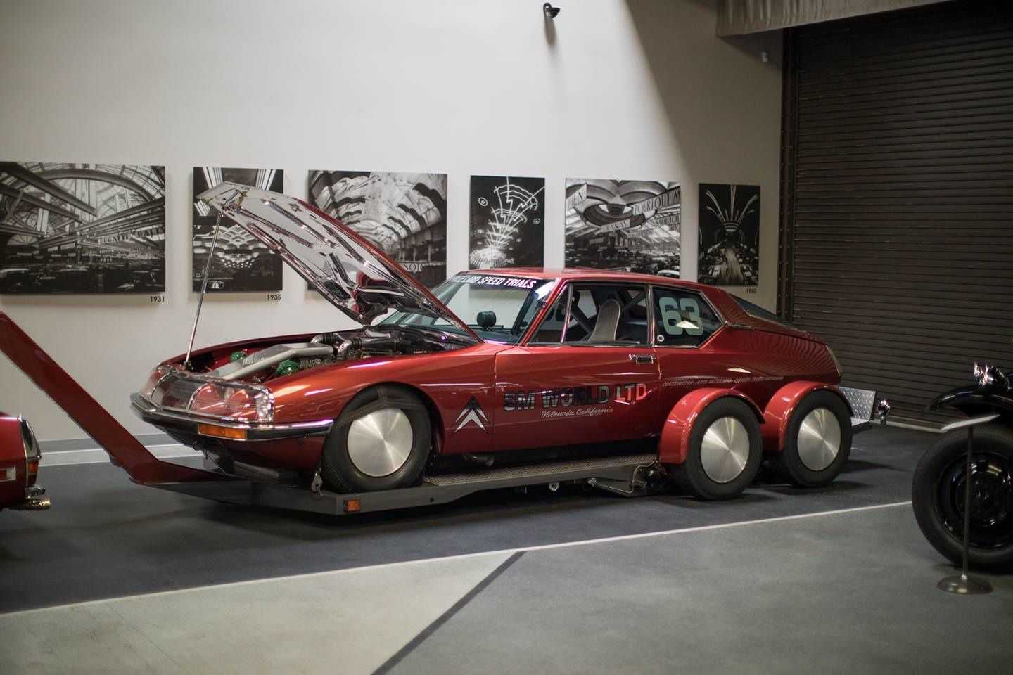 MULLIN MUSEUM WELCOMES THE FASTEST CITROEN SM - CALIFORNIA USA