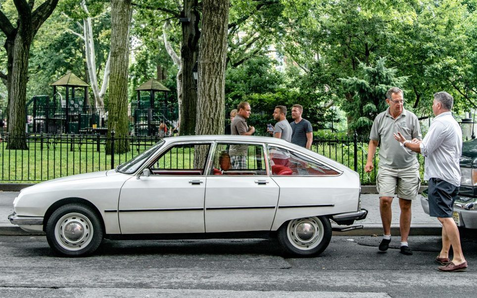 FRENCH CAR SHOW IN NYC FOR THE BASTILLE DAY