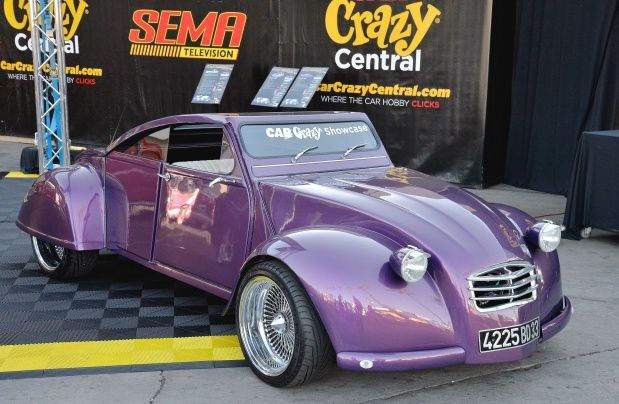 1963 CITROEN 2CV FROM THE 2012 SEMA SHOW