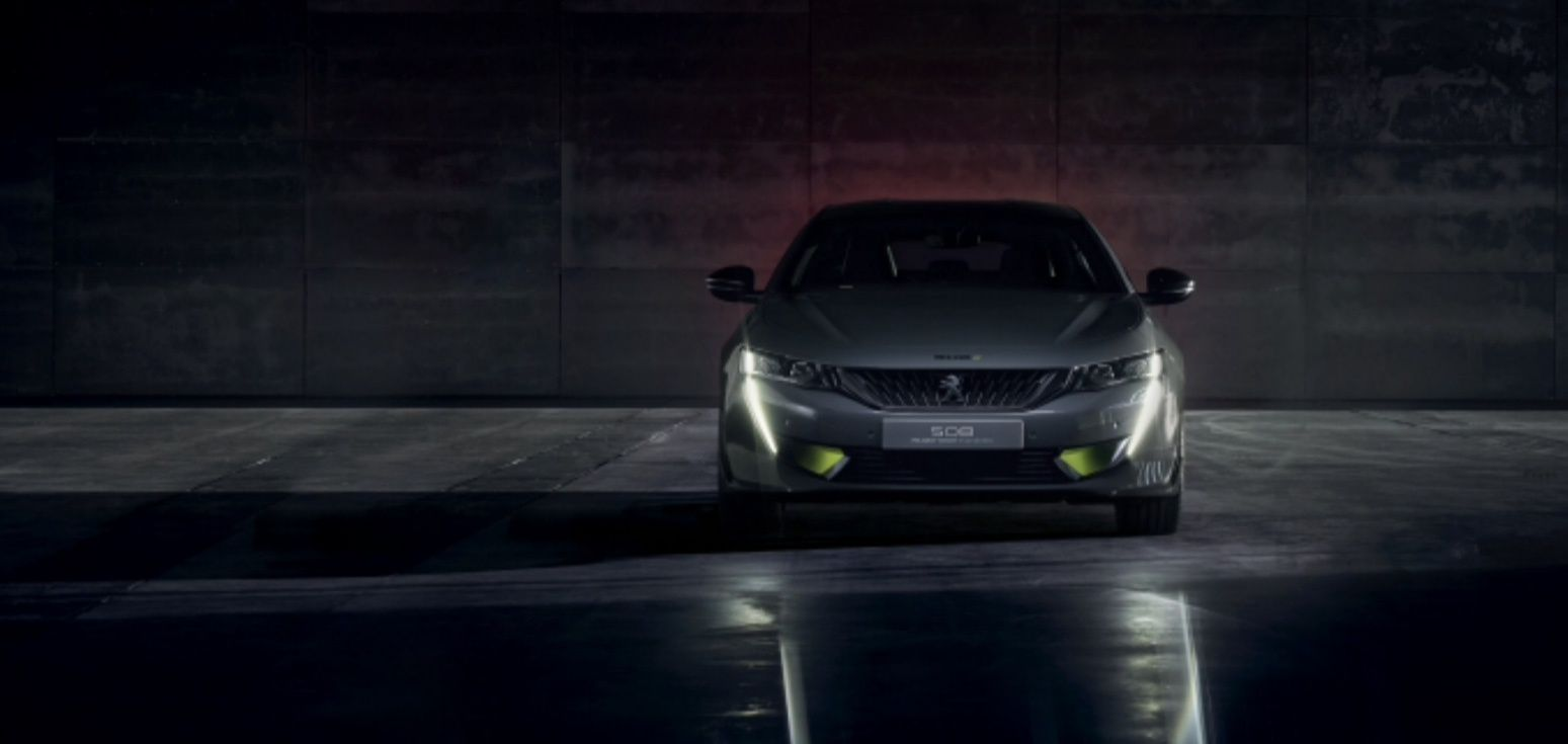 NEW PEUGEOT 508 WITH 400 HP !!!