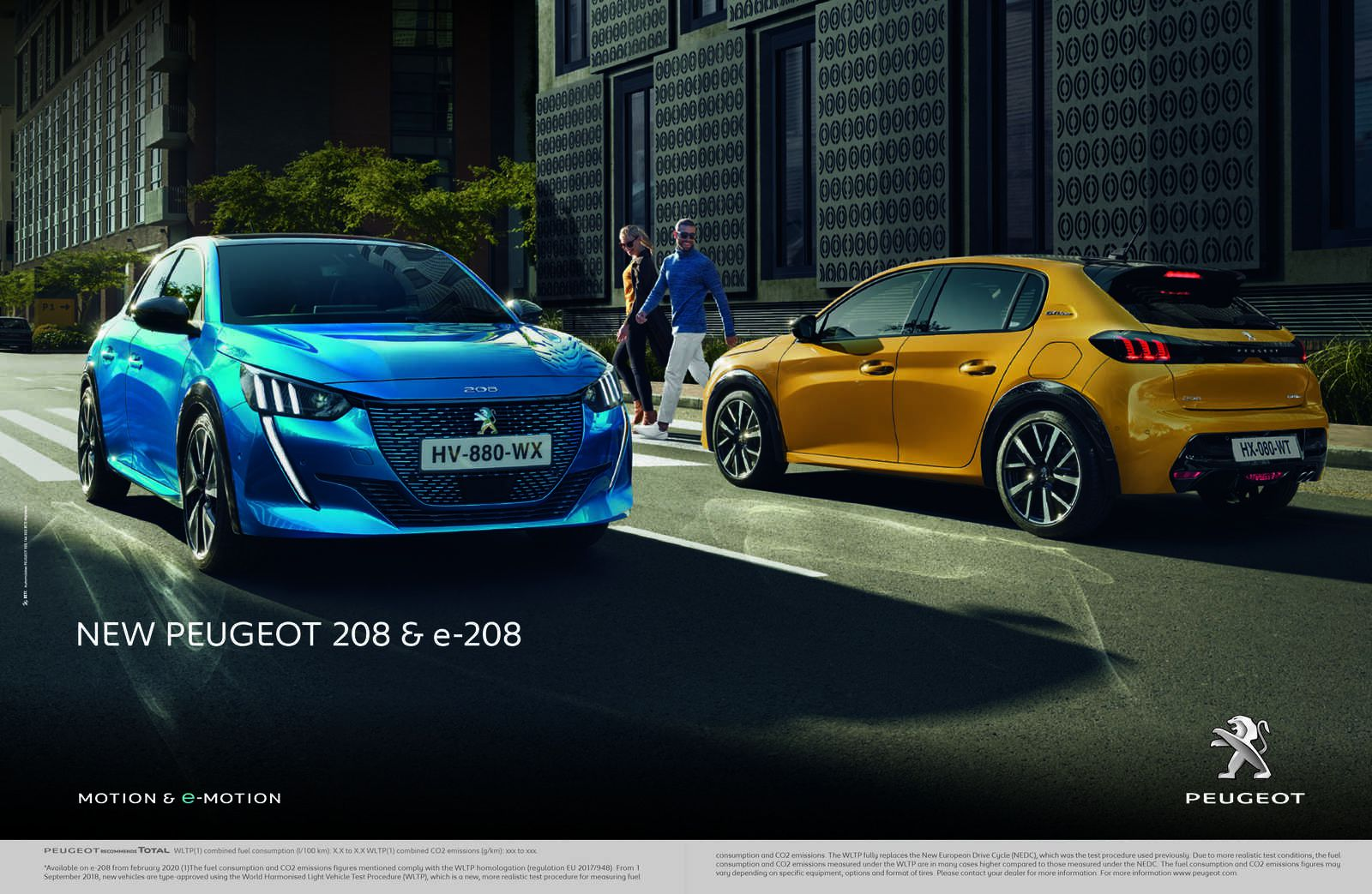 """THE NEW PEUGEOT 208 NAMED EUROPEAN """"CAR OF THE YEAR 2020"""""""