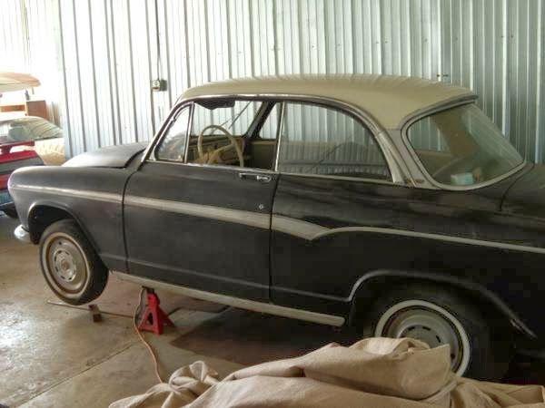 1962 Simca Aronde Coupe
