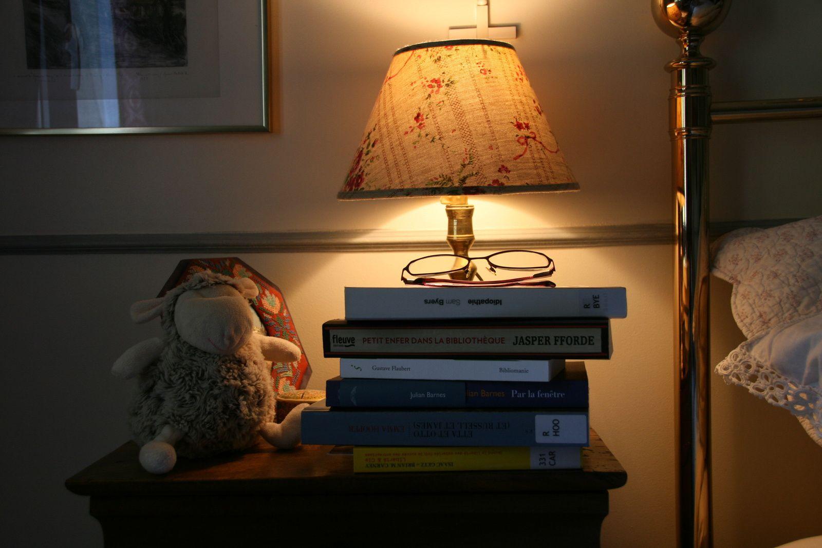 La table de nuit de la bibliothécaire