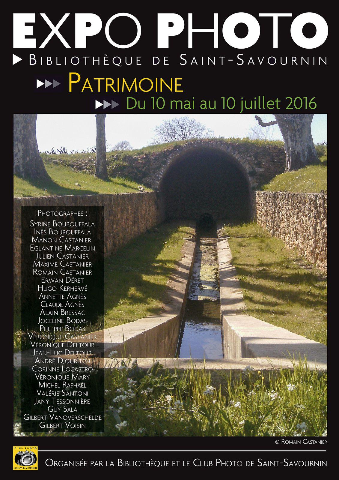 Expo photo Patrimoine