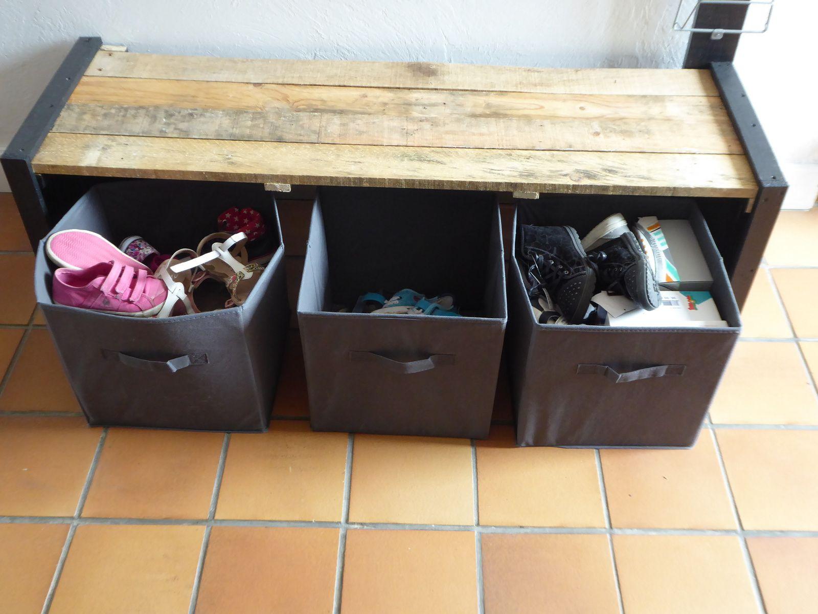 Travaux #1: Nouvelle entrée et meuble à chaussures