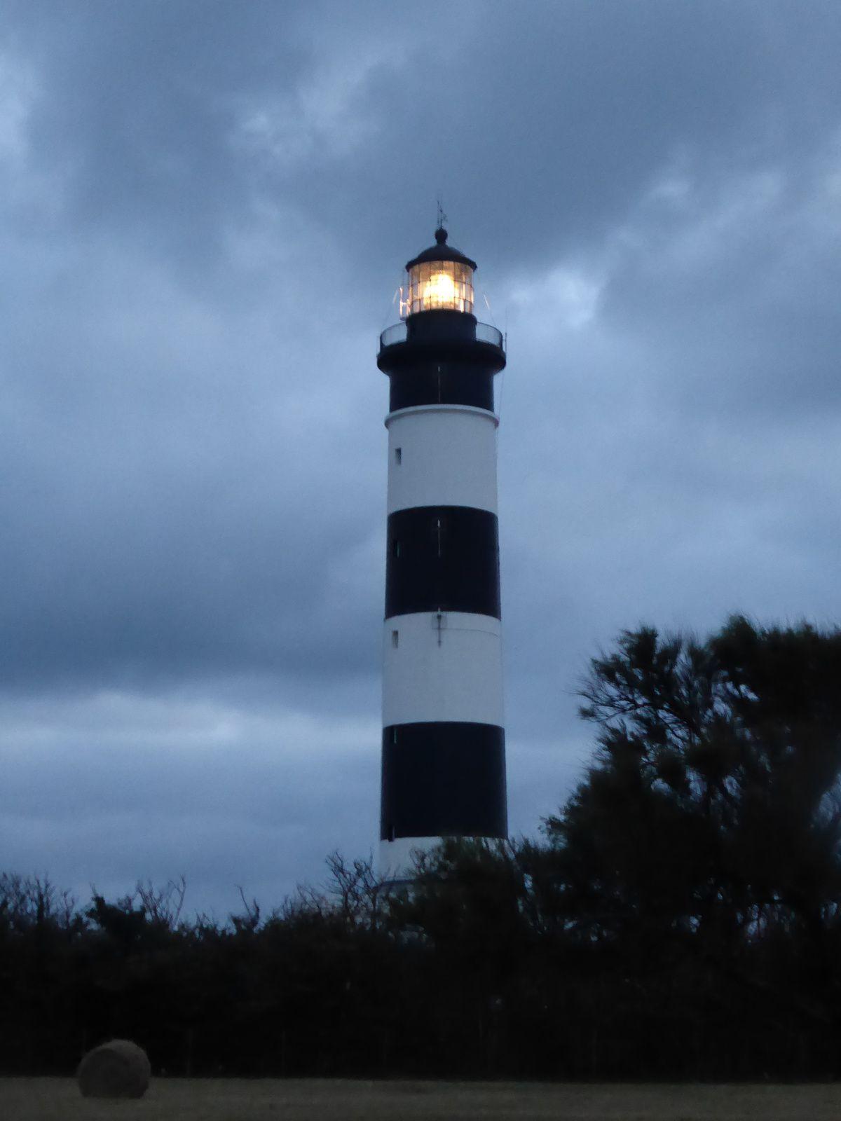 Les vacances sur l'île d'Oléron: le phare de Chassiron