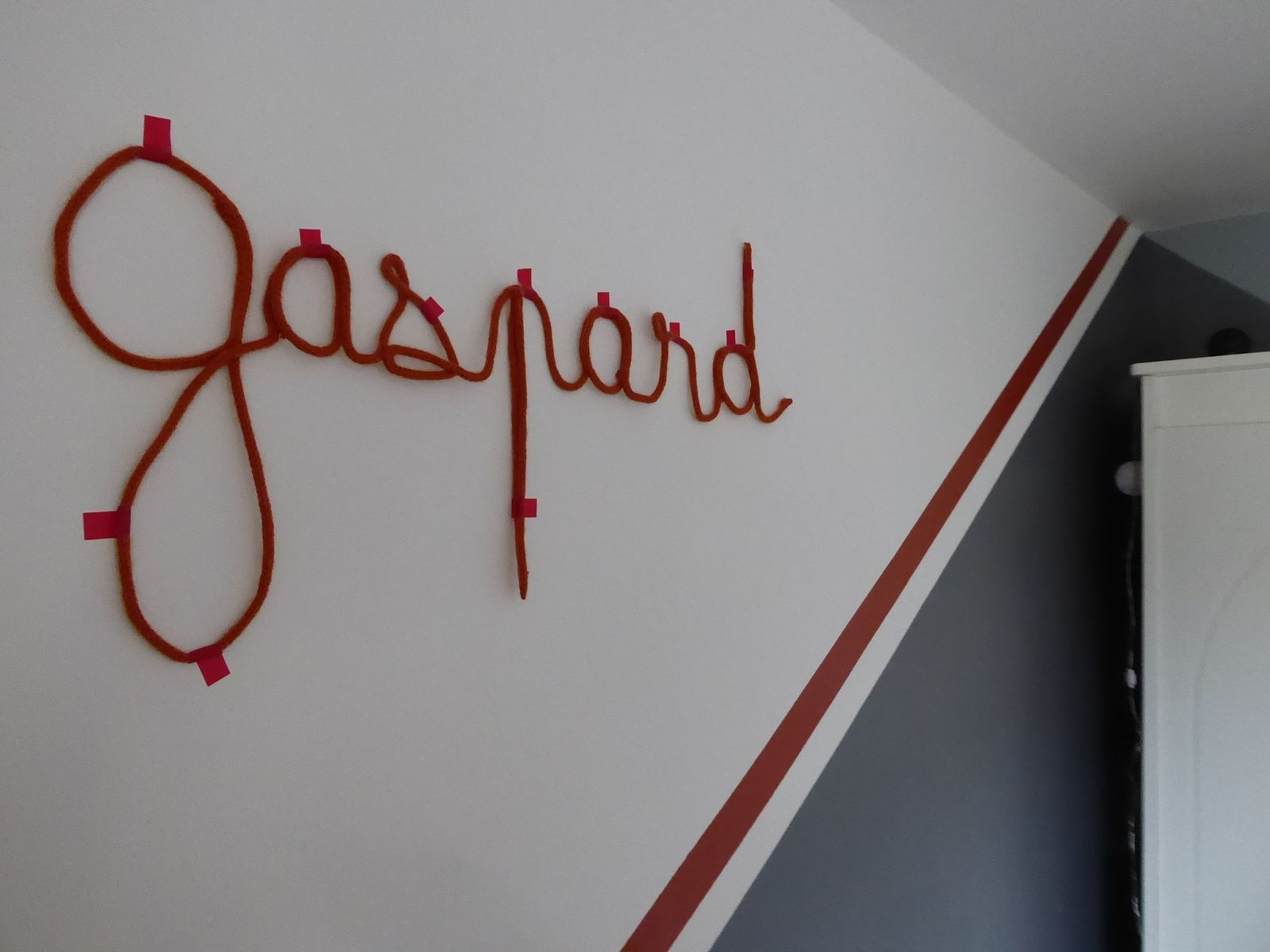 Gaspard en tricotin
